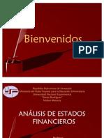 Análisis de Estados Financieros UNESR