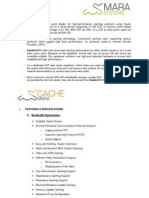 CacheMARA Spec Brief