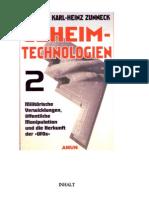 Zunneck - Geheimtechnologien 2 - Militarische Verwicklungen Offentliche Manipulation Und Die Herkunft Des UFOs (2001)