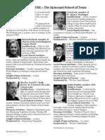 Trustees of TMI Nominees 2012