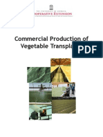 Commercial Production of Vegetable Transplants