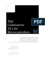 Tips Codewarrior 10