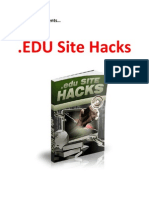 EDU Site Hacks