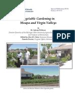 Vegetable Gardening in Moapa and Virgin Valleys