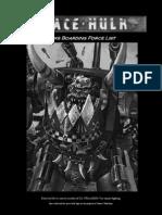 Orks Boarding Force Listv1