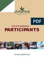 Palestine Investment Conf Participant_list