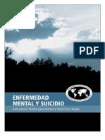 Guia para familias sobre enfermedad mental y suicidio (Federación Mundial para la Salud)