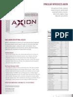 AXION Product Sheet