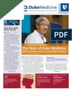 Inside Duke Medicine - November 2008 (Vol. 17 No. 11)