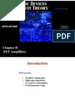 Chapter-8 FET Amplifiers