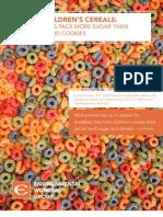 2011 EWG Cereals Report