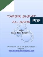 TafsirSuratAl-'Ashr