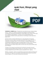 Kliping Berita Online  Perumahan Rakyat 13 Januari 2012
