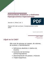 Cetoacidosis y Sindrome Hiperglucemico Hiperosmolar