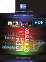 ICE 2012 Preconference Booklet