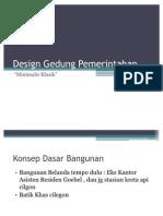 Design Gedung Pemerintahan