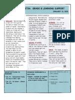 Weekly Bulletin 1.13.12