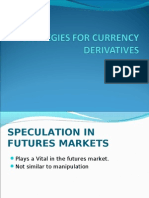 Speculation in Futures Marketsss