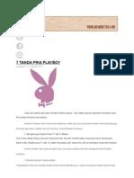 7 Ciri - Ciri Pria Playboy