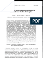 Lonnie A. Nelson and Gary E. Schwartz- Consciousness and the Anomalous Organization of Random Events