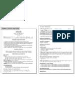 Curriculum Academico Estructura