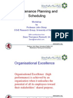 7313865 Maintenance Planning and Scheduling