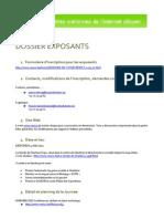 Dossier Exposants 2011