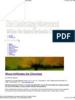 Wicca Infiltrates the Churches by Catherine Edwards_The Confessing Movement (1999)