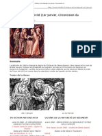 Nativité (1er janvier, Circoncision du Seigneur)
