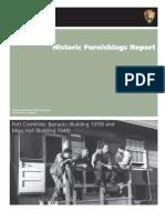 Cronkhite Historic Furnishings Report