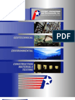Construction Materials Testing Environmental Geotechnical