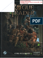 Rogue Trader (2009) - Core Rulebook