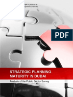Strategic Planning Maturity in the Public Sector in Dubai