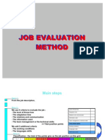 Job Evaluation Avril2010