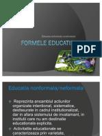 Formele Educatiei Educatia Non Formal A