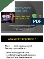 Bahan Ajar Micro Teaching