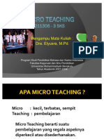 Bahan Ajar Micro Teaching