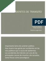 Accidentes de Transito 2011 Arreglado