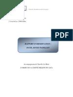 Rapport d'Observation Accompagnement Du 23.03.11, Michelik F