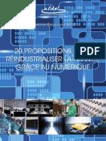 Afdel - 20 Propositions Pour Reindustrialiser La France Grace Au Numerique 13012012