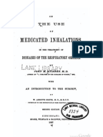 1867 on the Use of Medicated Inhalations