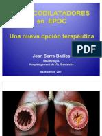 Clase Magistral. Presentación. Broncodilatadores en el tratamiento de la EPOC.Una nueva opción terapéutica
