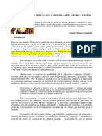 Tendencias de La Educacion a Distancia en America Latina