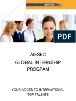 AIESEC Global Internship Program