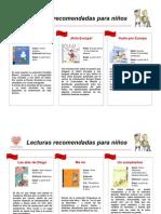 Lecturas niños Octubre 2009