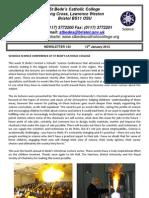 Newsletter 134 - 13.01.12