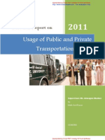 Research Report on Transportation