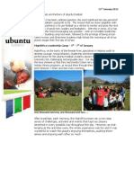 Ubuntu Football January Newsletter