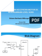 Pengaturan Kecepatan Motor Dc Berdasarkan Level Suhu (Uas)