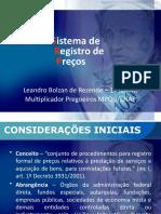 Curso - Sistema de Registro de Preço (SRP)